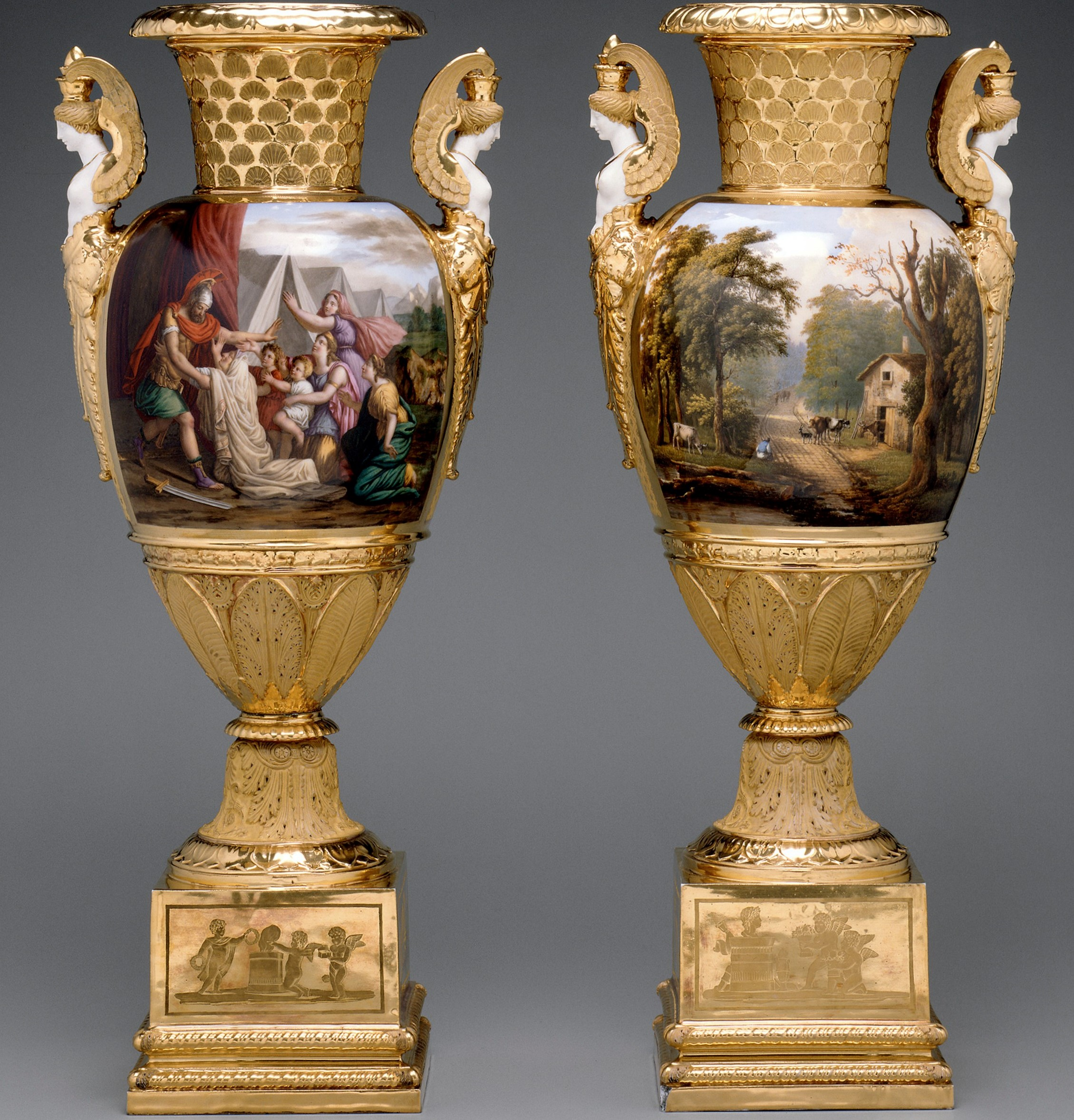Boston 39 s museum of fine arts features french porcelain vases from its decorative arts - Museum decorative arts paris ...