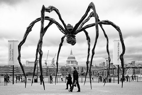 Spider Louise Bourgeois at the Tate Modern