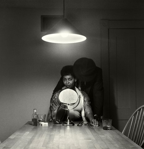 Mae William Kitchen Table (Man and Mirror) 1990 (3) | ARTES MAGAZINE