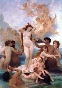 The_Birth_of_Venus_by_William-Adolphe_Bouguereau_(1879 musee d'Orsay)