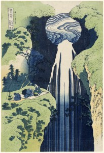 The Amida Falls in the Far Reaches of the Kisokaidô Road (Kisoji no 