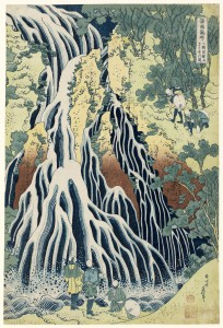 The Falling Mist Waterfall at Mount Kurokami in Shimotsuke 