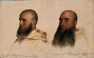 paul-delaroche-two_heads_camaldolese_monks-1844