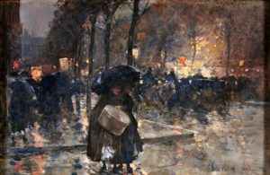 AWC IMAGE 9 - Hassam edit Boulevard at Night Paris