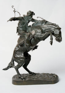 Frederic_Remington-Bronco_Buster-1883