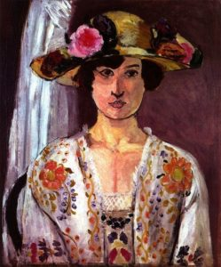 matisse woman with hat
